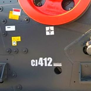 Sandvik CJ412 щёковая дробилка